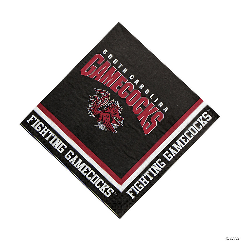 NCAA™ South Carolina Luncheon Napkins Audio Thumbnail