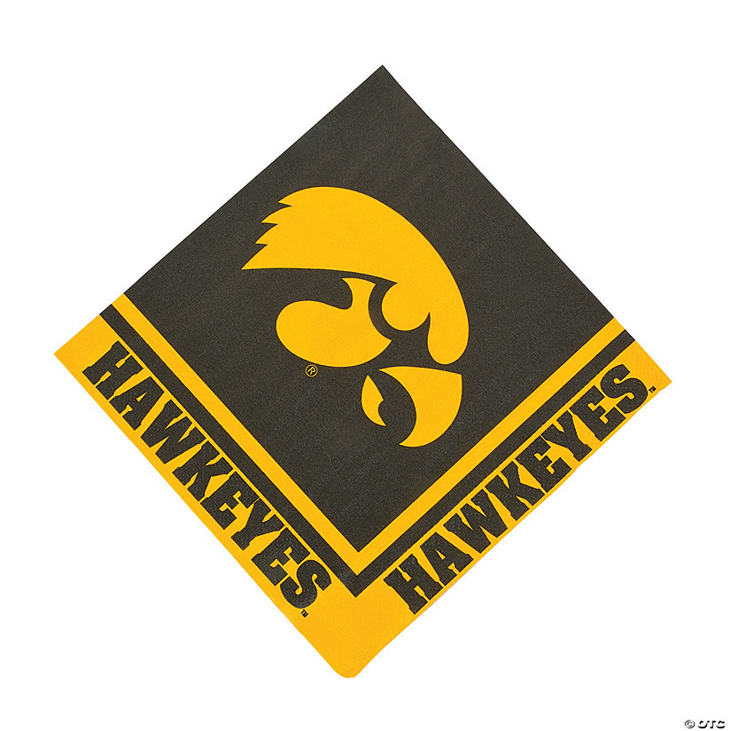 NCAA™ University Of Iowa Hawkeyes Luncheon Napkins
