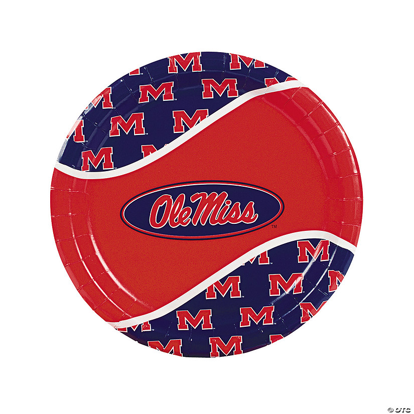 NCAA™ University of Mississippi Paper Dinner Plates Audio Thumbnail