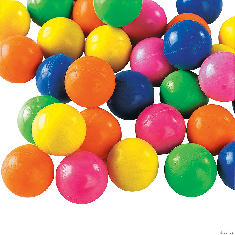 Neon Mini Bouncy Ball Assortment