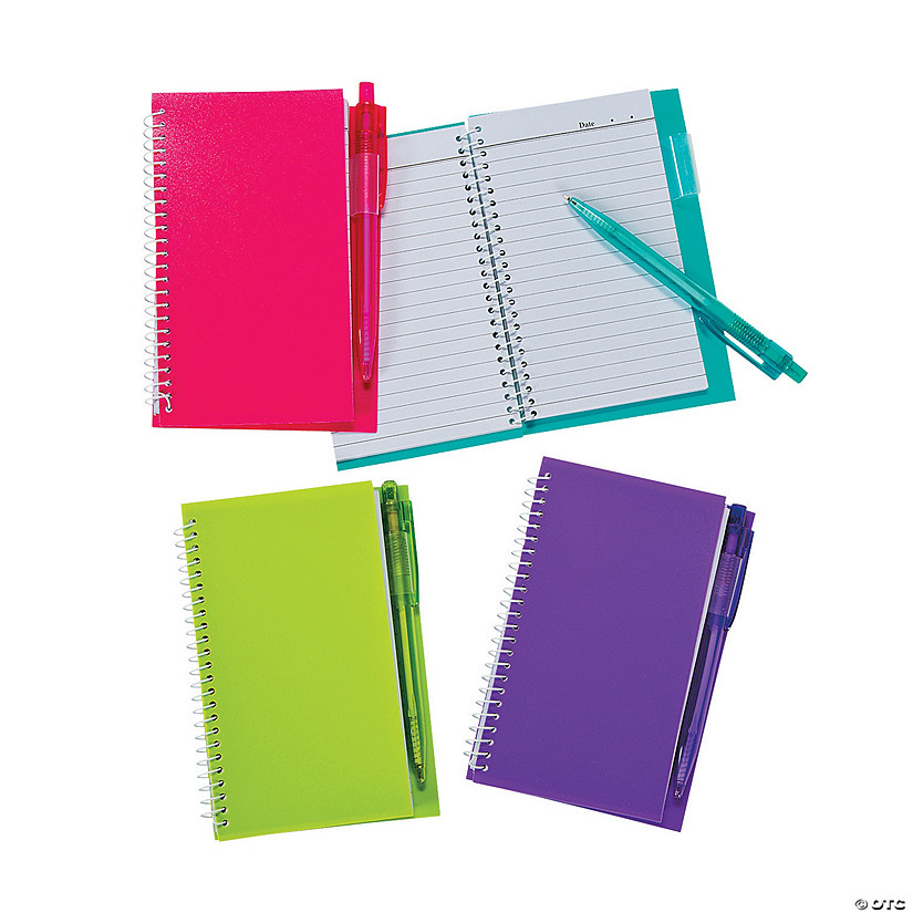 Neon Spiral Notebook & Pen Sets Audio Thumbnail