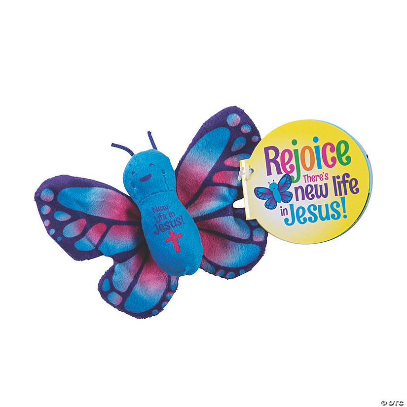 New Life in Jesus Stuffed Butterflies with Story Audio Thumbnail