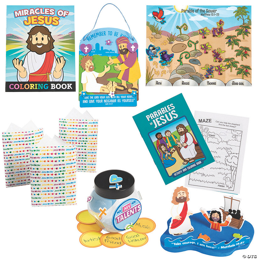 New Testament Jesus' Teachings Sunday School Kit for 48 Image Thumbnail