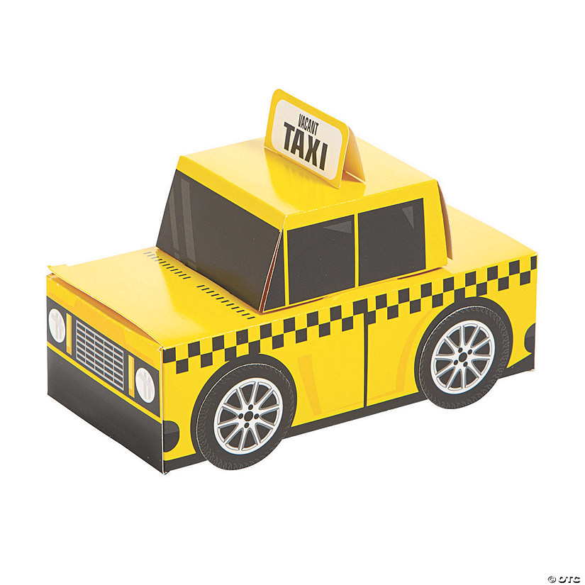 New York City Taxi Favor Boxes Audio Thumbnail