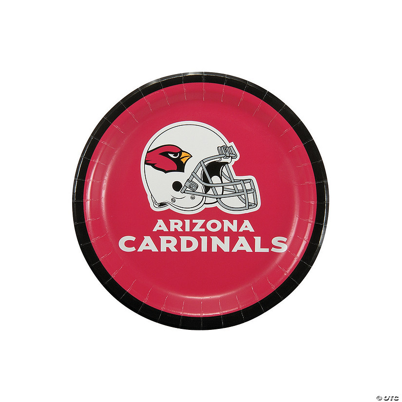 NFL® Arizona Cardinals™ Paper Dessert Plates - 8 Ct. Audio Thumbnail