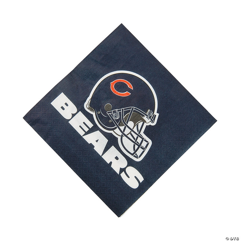 NFL® Chicago Bears™ Luncheon Napkins Audio Thumbnail