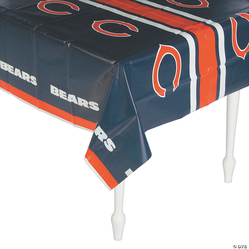 NFL® Chicago Bears Plastic Tablecloth