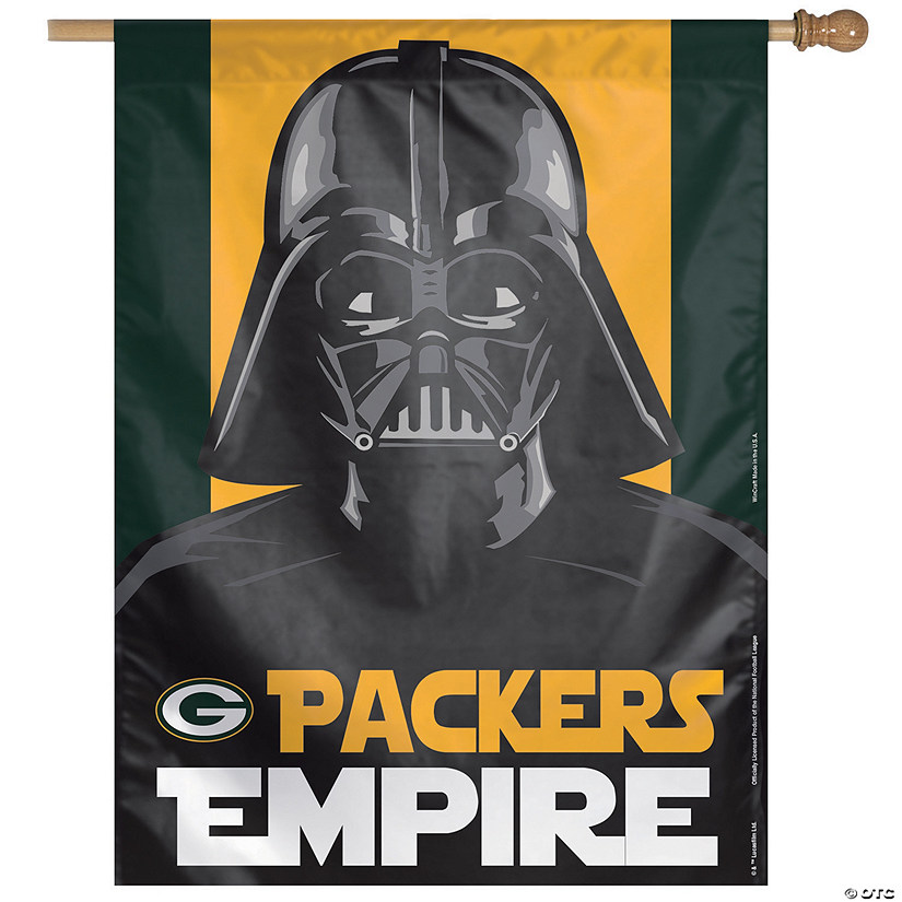 NFL® Green Bay Packers™ Star Wars™ Pennant Banner Audio Thumbnail