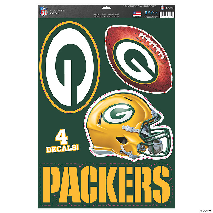 NFL® Green Bay Packers™ Window Decals