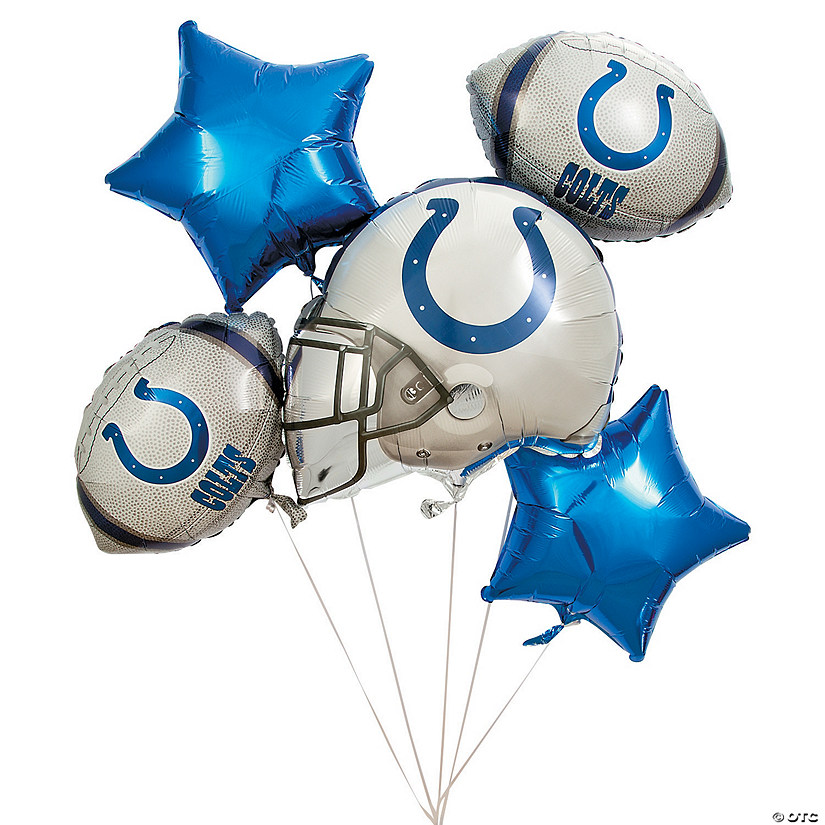 NFL® Indianapolis Colts™ Mylar Balloons Audio Thumbnail