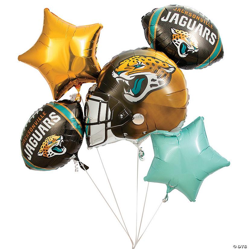 jacksonville balloons nfl jaguars mylar party orientaltrading decorations supplies