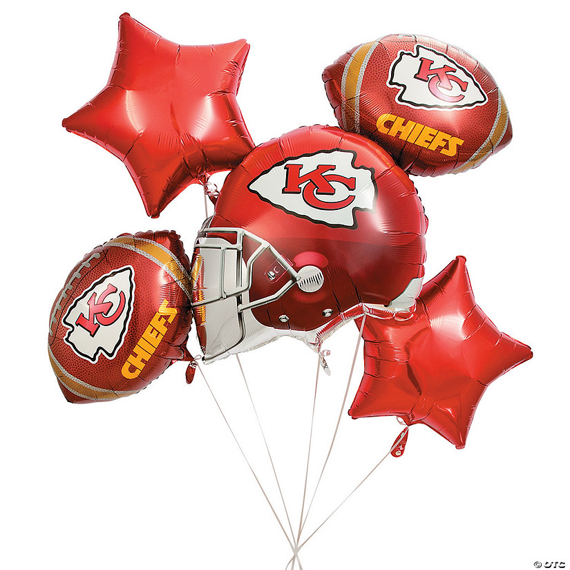 NFL® Kansas City Chiefs™ Mylar Balloons Audio Thumbnail