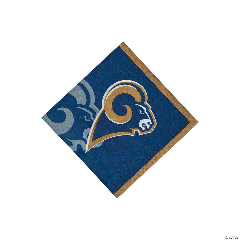 NFL® Los Angeles Rams™ Beverage Napkins Audio Thumbnail