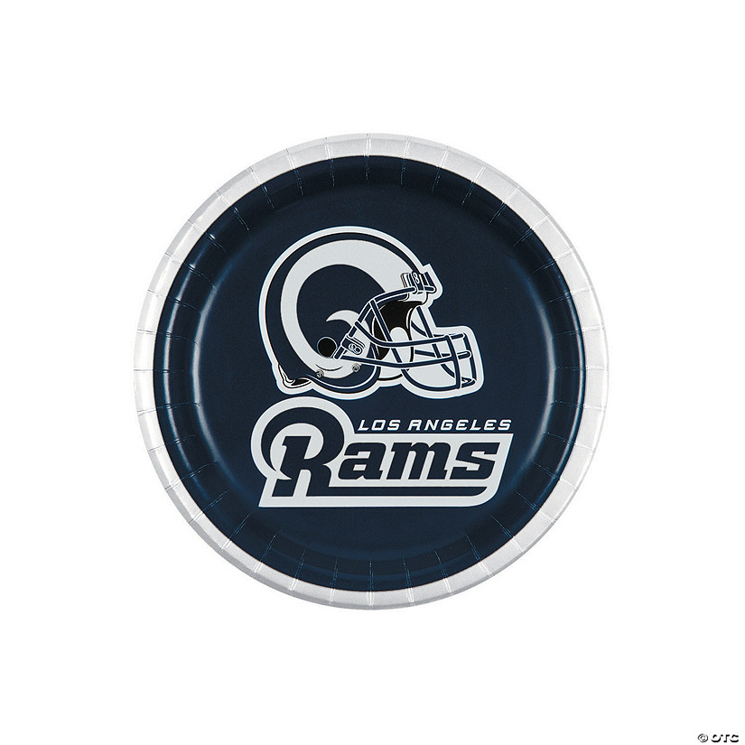 NFL® Los Angeles Rams™ Paper Dessert Plates Audio Thumbnail