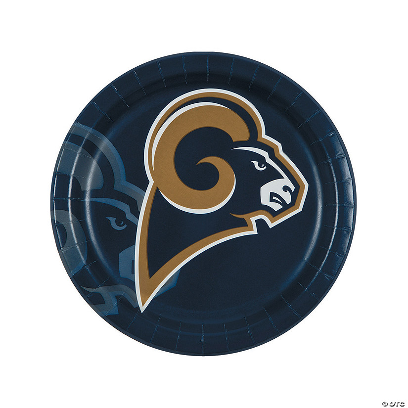 NFL® Los Angeles Rams™ Paper Dinner Plates - 8 Ct. Audio Thumbnail
