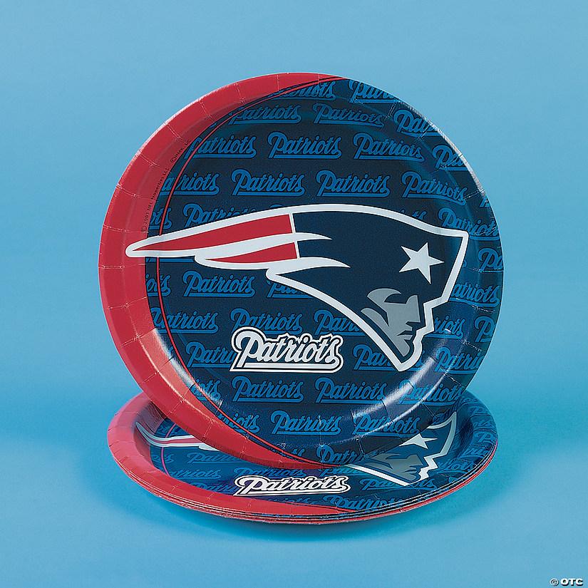 Nfl 174 New England Patriots 8482 Dinner Plates