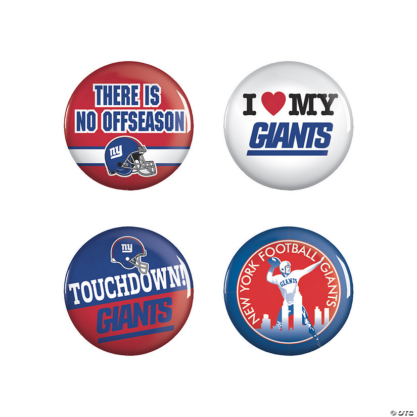 NFL® New York Giants™ Buttons