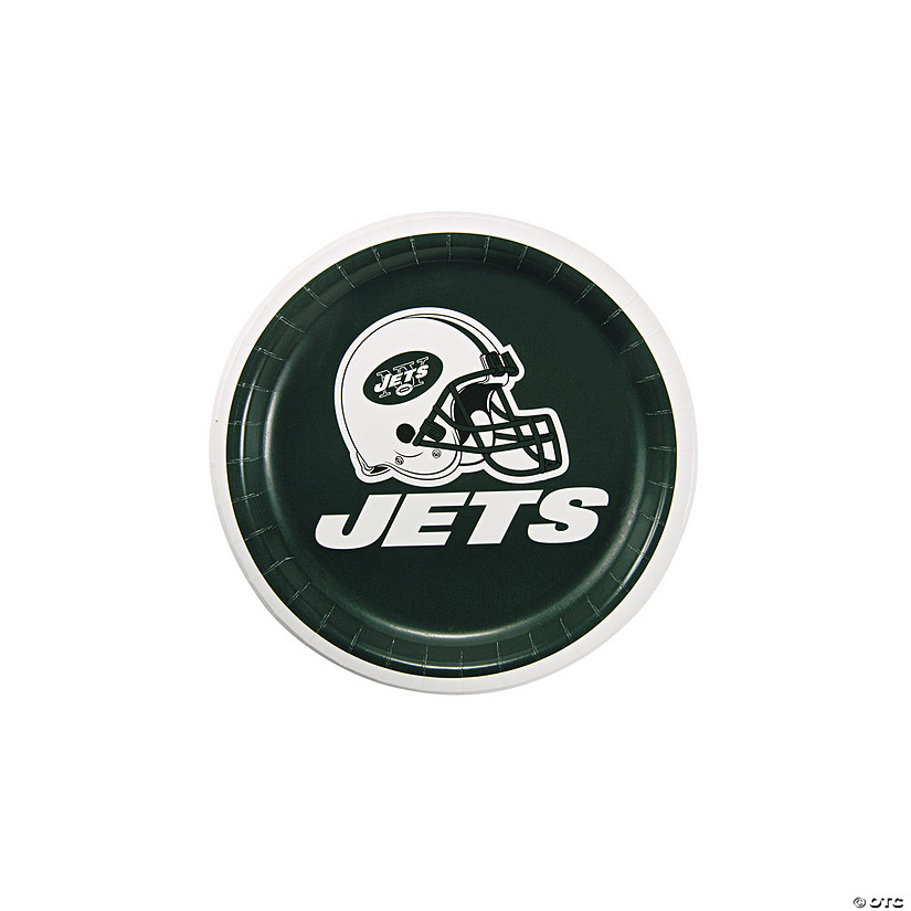 NFL® New York Jets™ Paper Dessert Plates - 8 Ct. Audio Thumbnail