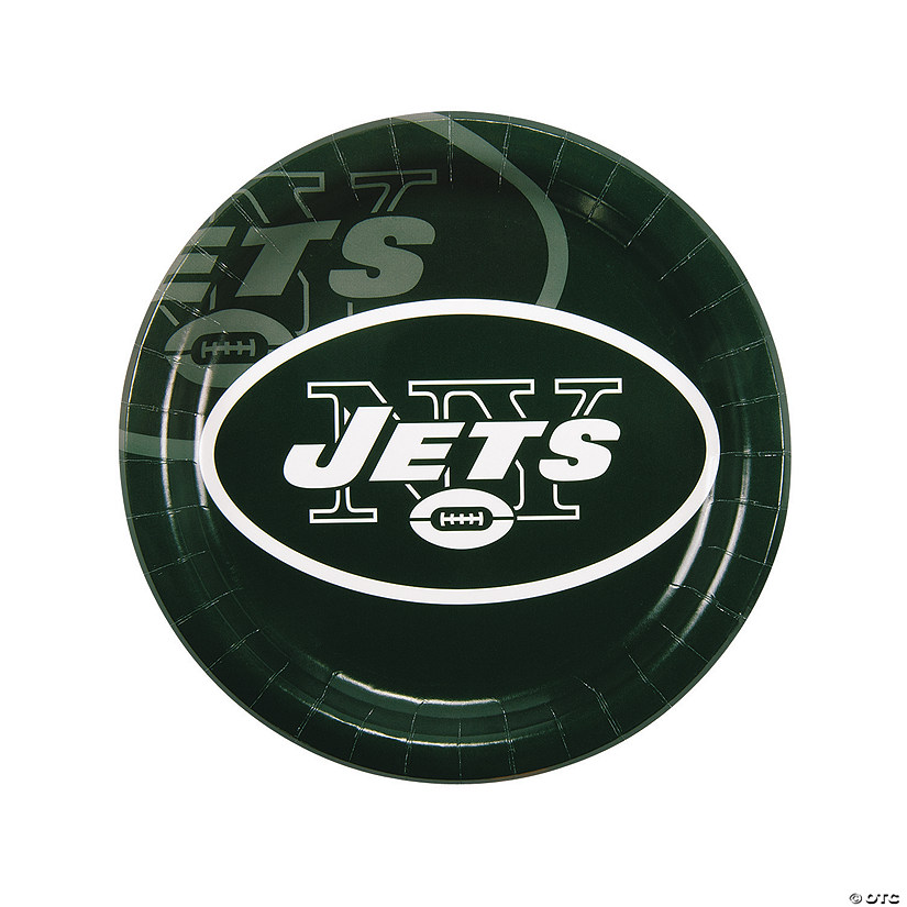 NFL® New York Jets™ Paper Dinner Plates Audio Thumbnail