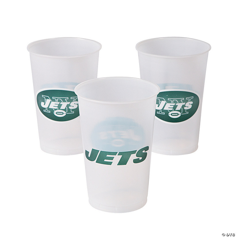 NFL® New York Jets Plastic Cups