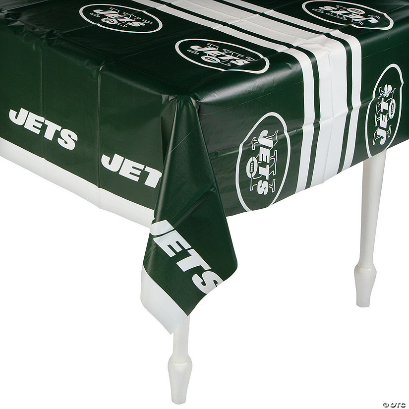 NFL® New York Jets Plastic Tablecloth