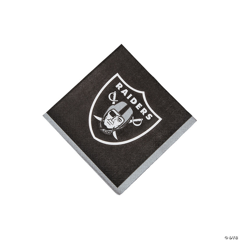 NFL® Oakland Raiders™ Beverage Napkins Audio Thumbnail