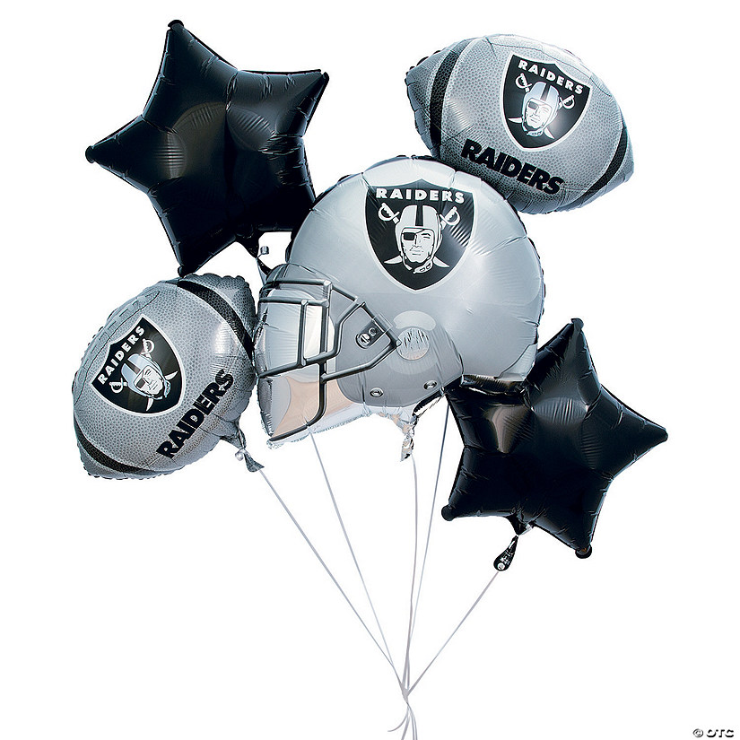 NFL® Oakland Raiders™ Mylar Balloons Audio Thumbnail