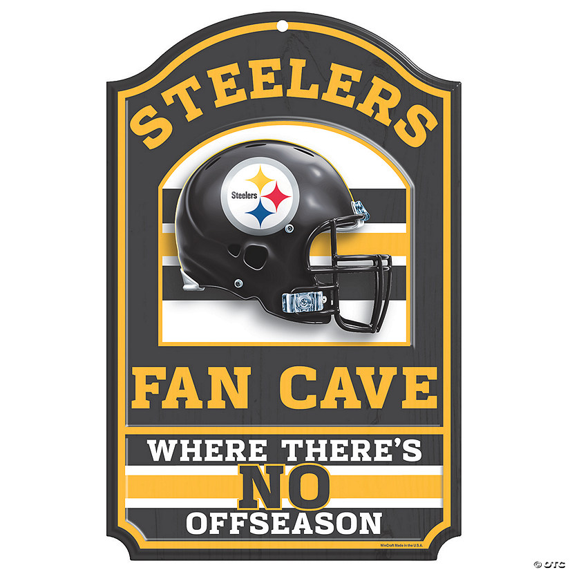 NFL® Pittsburgh Steelers™ Fan Cave Sign