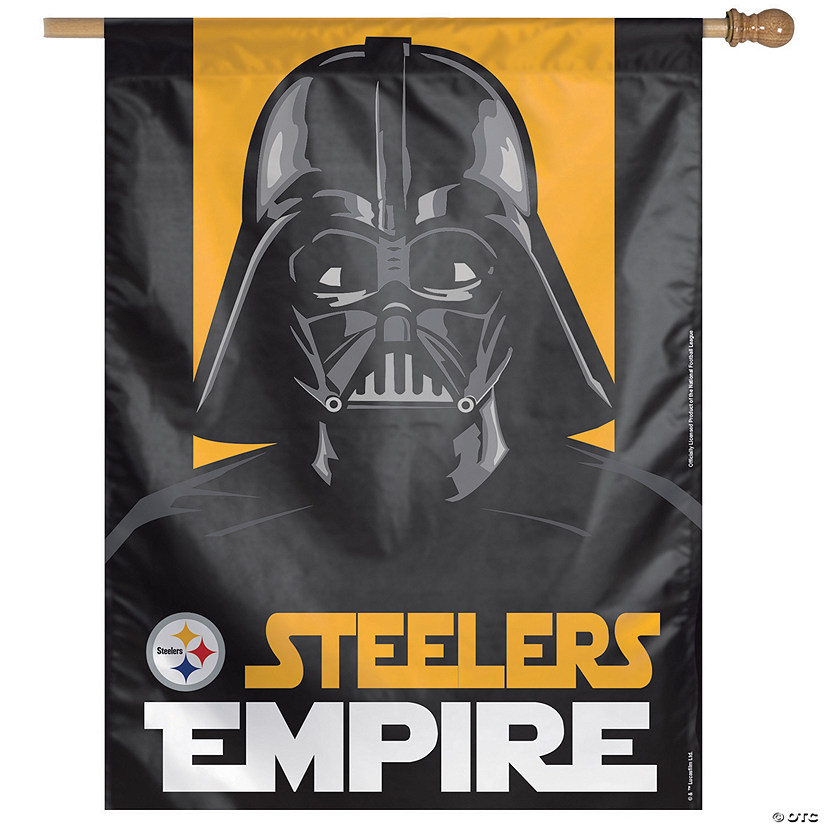 NFL® Pittsburgh Steelers™ Star Wars™ Pennant Banner Audio Thumbnail