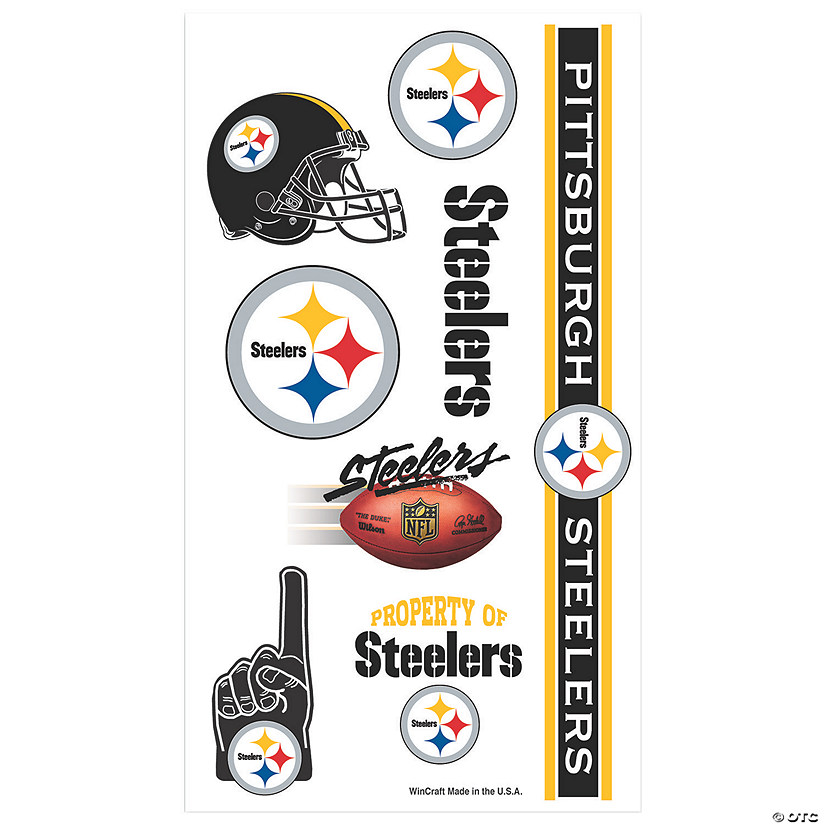 NFL® Pittsburgh Steelers™ Tattoos