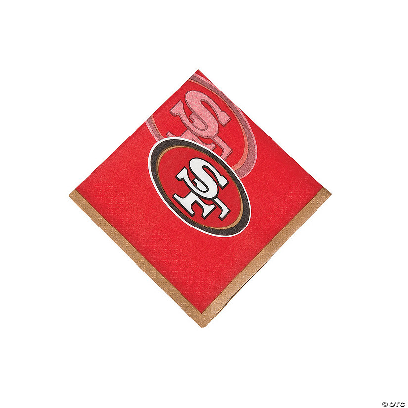 NFL® San Francisco 49ers™ Beverage Napkins Audio Thumbnail