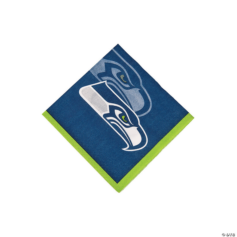 NFL® Seattle Seahawks™ Beverage Napkins Audio Thumbnail