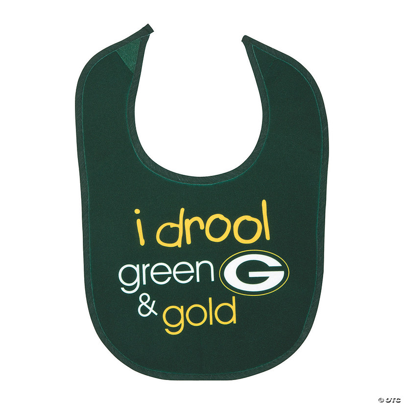 NFL<sup>®</sup> Green Bay Packers<sup>™</sup> Baby Bib