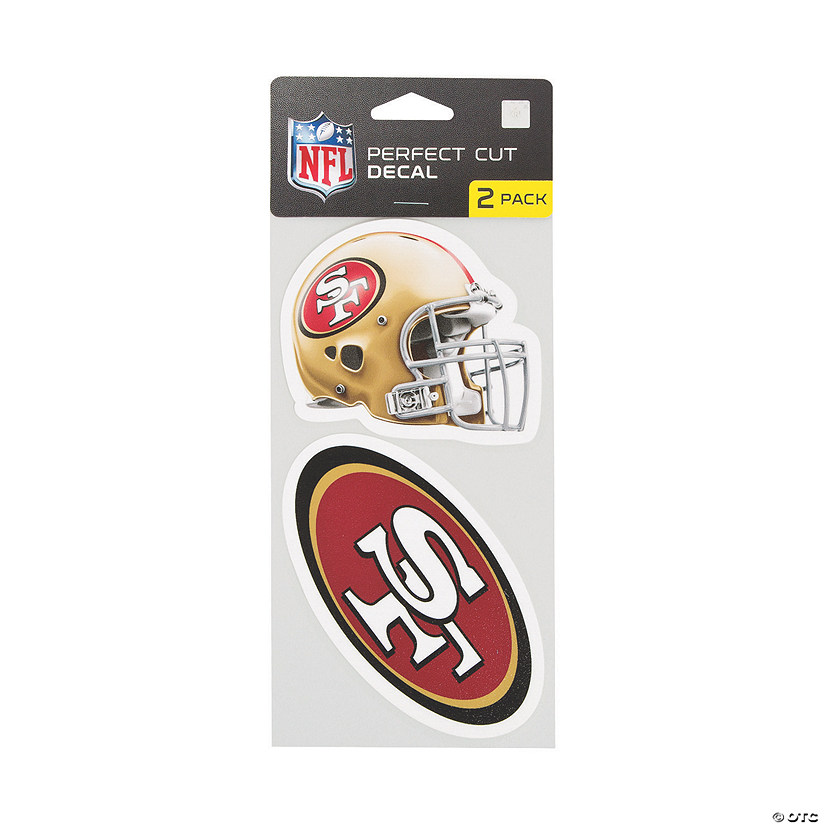 NFL<sup>®</sup> San Francisco 49ers<sup>™</sup> Perfect Decals