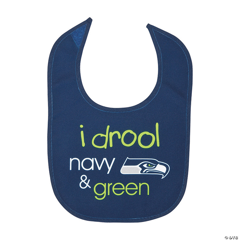 NFL<sup>®</sup> Seattle Seahawks<sup>™</sup> Baby Bib