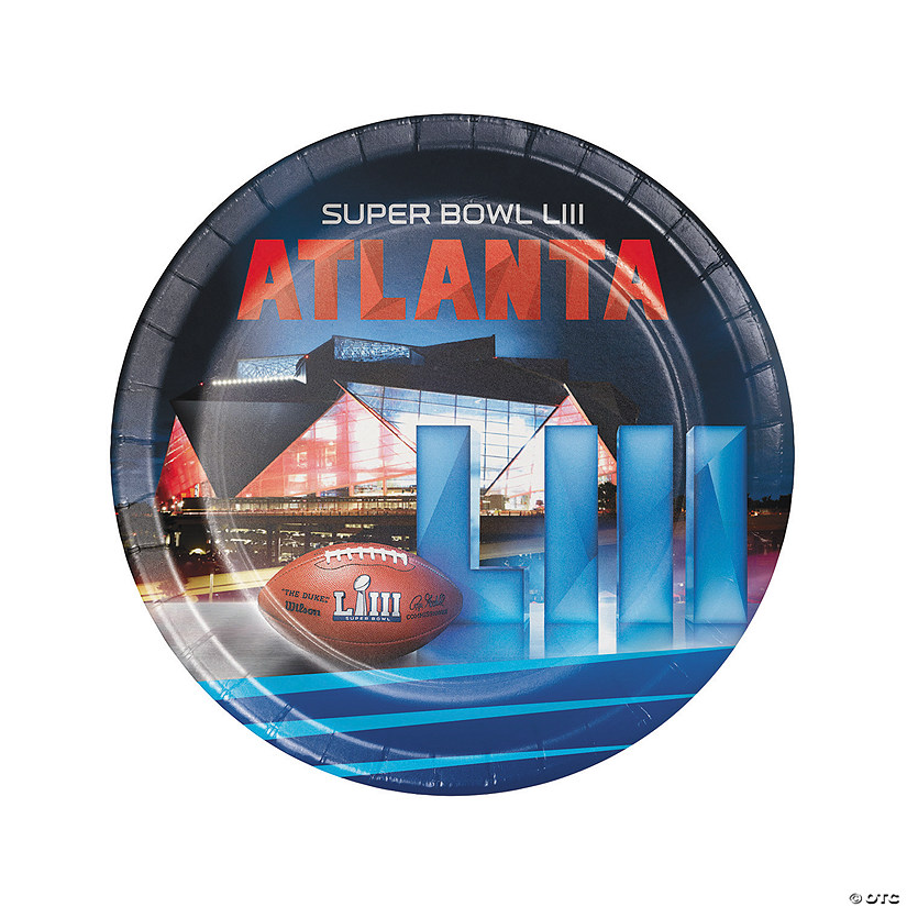NFL<sup>&#174;</sup> Super Bowl LIII Round Paper Dinner Plates Audio Thumbnail