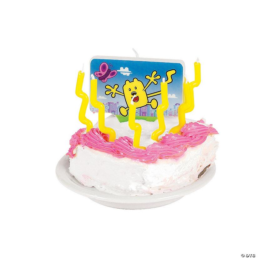 Nick Jr Wow Wubbzy Candle Decoration Kit70 6497