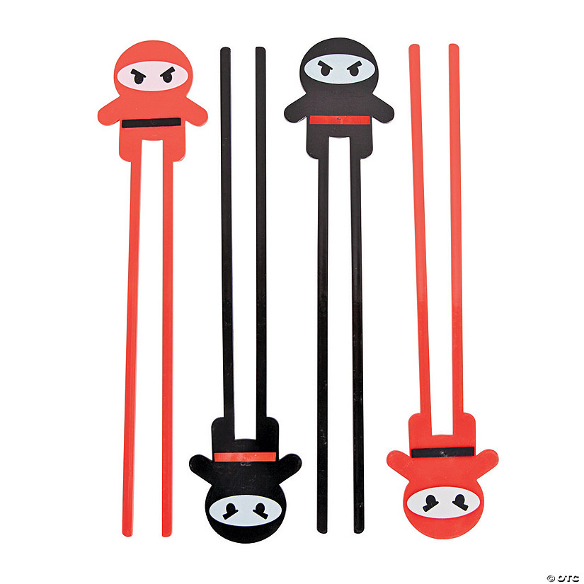 Ninja Plastic Chopsticks - 12 Ct. Audio Thumbnail