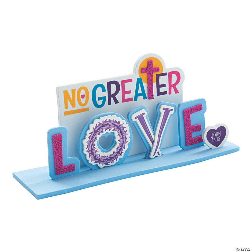 No Greater Love 3D Stand-Up Craft Kit Image Thumbnail