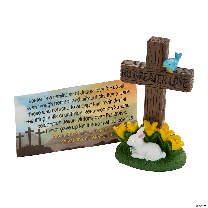 No Greater Love Easter Crosses with Card Image Thumbnail