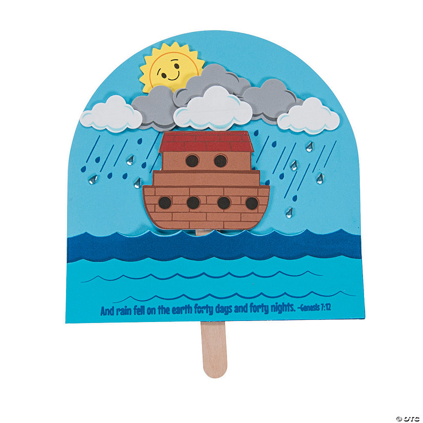 Noah's Ark Pop-Up Craft Kit