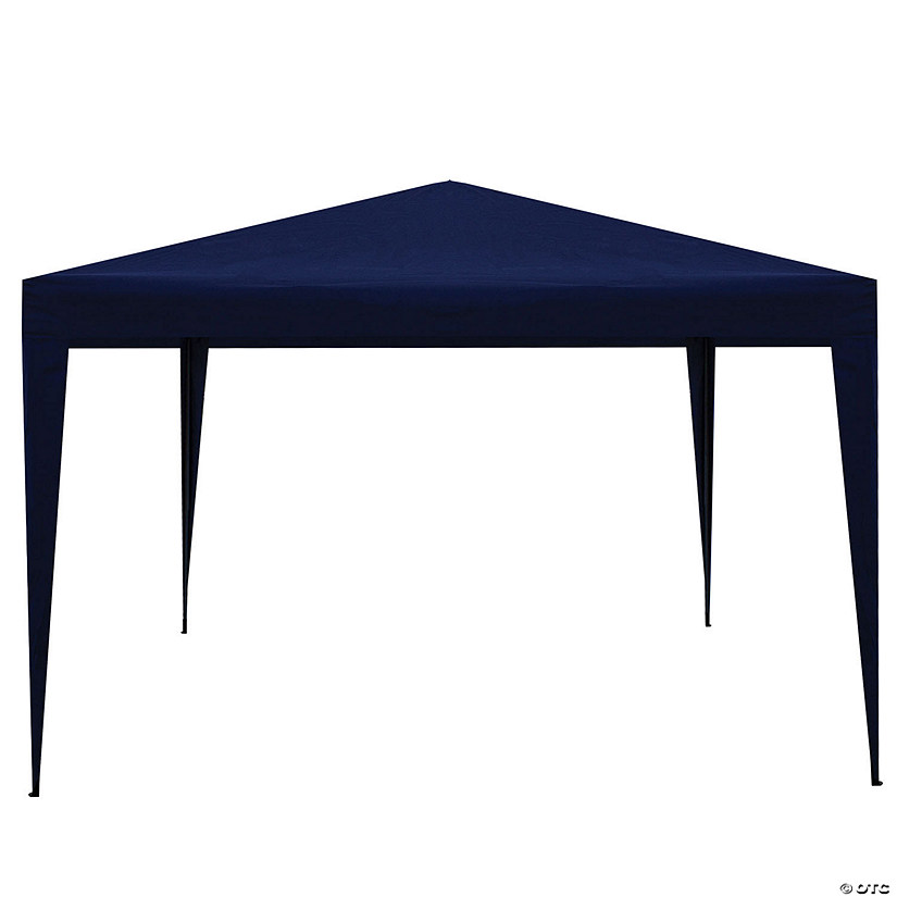 Northlight 10' x 10' Navy Blue Pop-Up Outdoor Canopy Gazebo Image Thumbnail