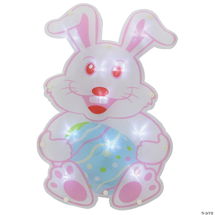 "Northlight 14"" Battery Operated LED Lighted Easter Bunny Window Silhouette Image Thumbnail"