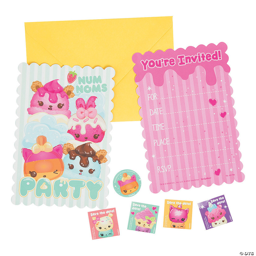 Num Noms™ Scented Invitations