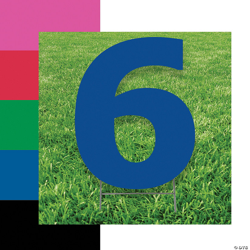 Number 6 Yard Signs Audio Thumbnail