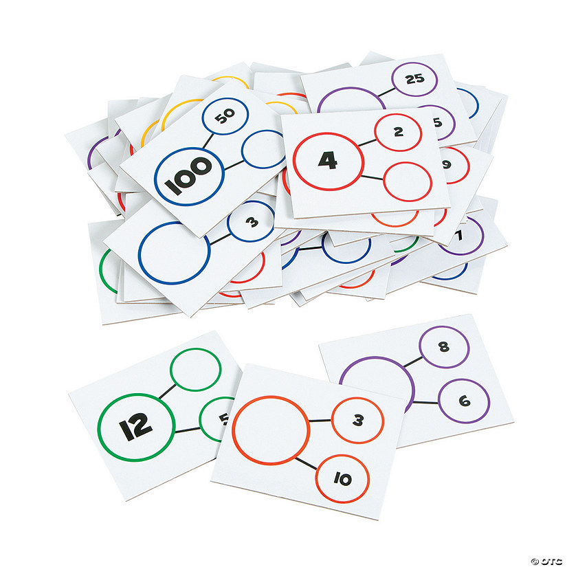 Number Bond Dry Erase Card Set Audio Thumbnail