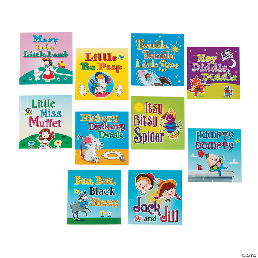 Nursery Rhyme Readers Oriental Trading