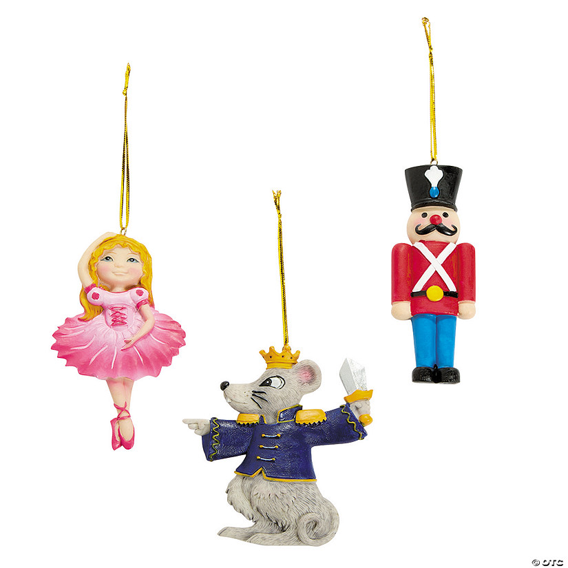 Nutcracker Ballet Christmas Ornaments Audio Thumbnail