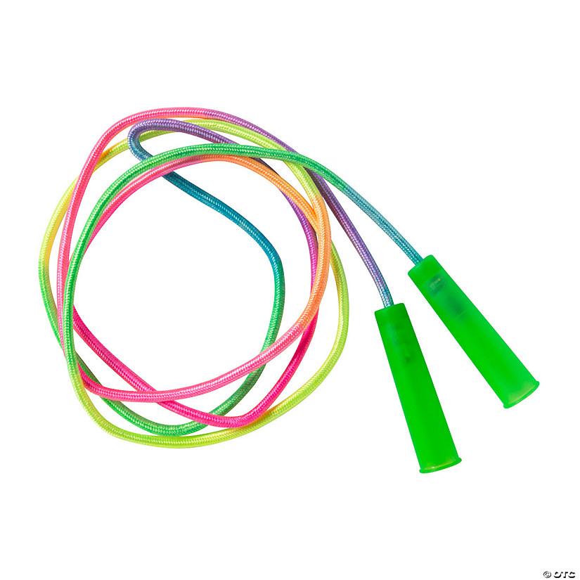 Nylon Rainbow Jump Ropes Image Thumbnail