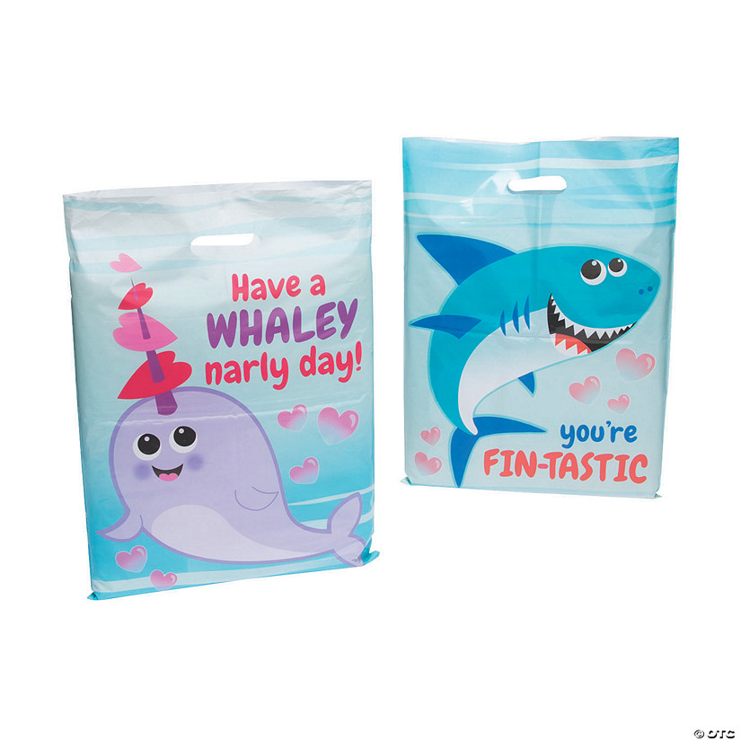 Ocean Animal Valentine Goody Bags